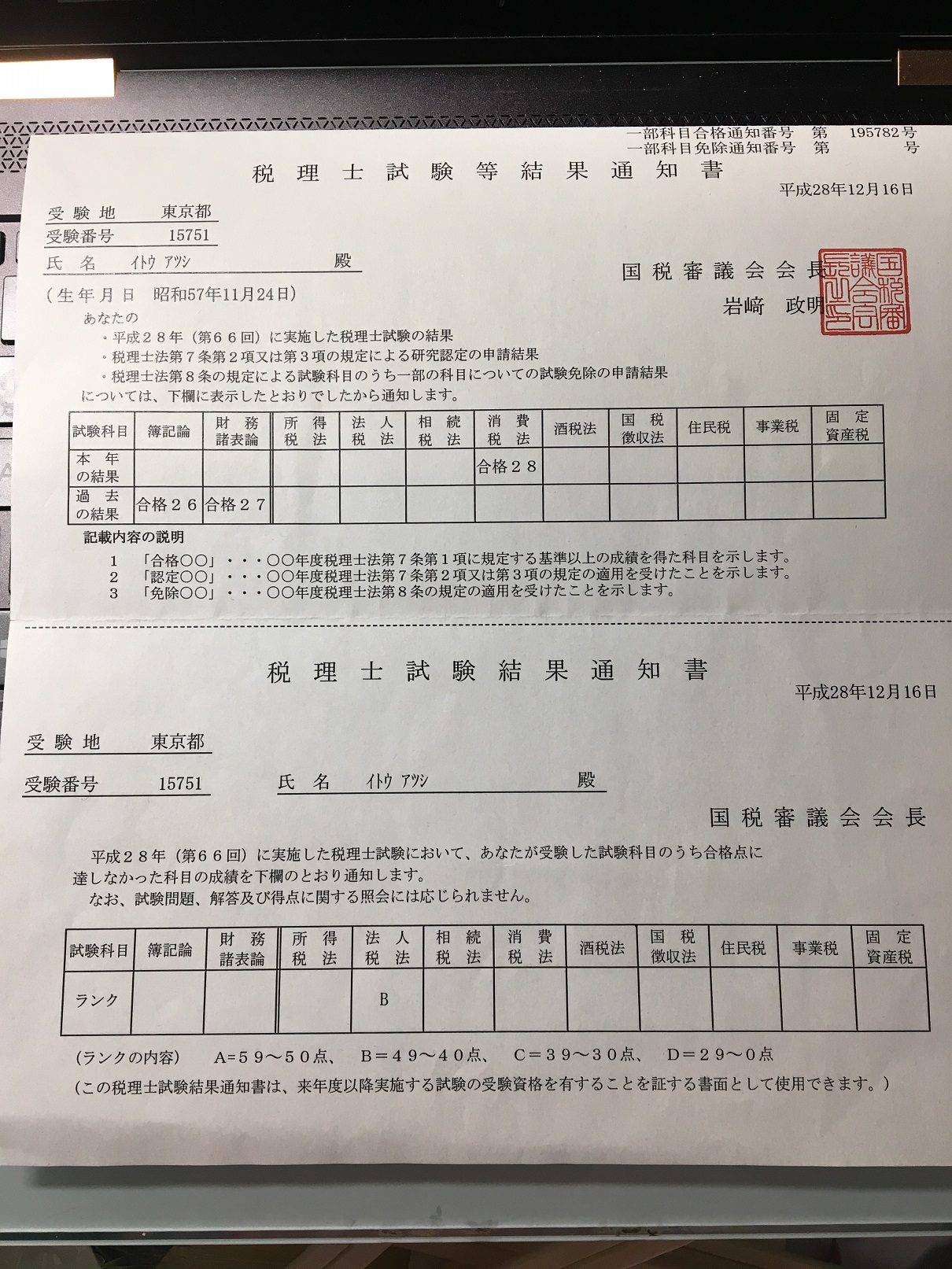 会場 税理士 試験